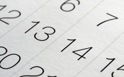 Google Calendar's multiple layers